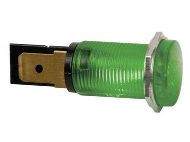 RONDE SIGNAALLAMP 14mm 12V GROEN (HRJC012V)