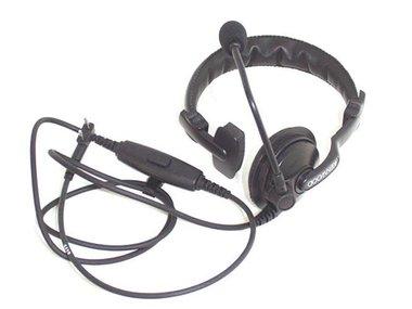KENWOOD® - KHS-7A SINGLE MUFF HEADSET WITH BOOM MIC & PTT (KNWA010)