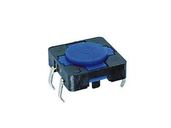 TACTILE SCHAKELAAR 12 x 12mm HOOGTE : 4.3mm (KRS1243)