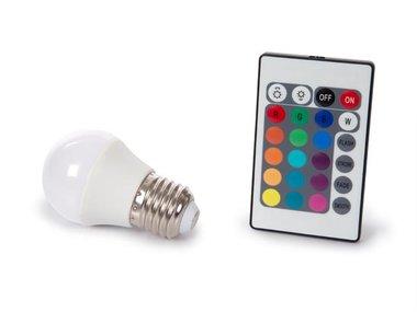 LEDLAMP - 4 W - E27 - RGB & WARMWIT (LAL1C5B)
