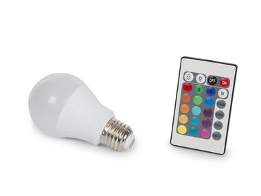 LEDLAMP - 7.5 W - E27 - RGB & WARMWIT (LAL1J5C)