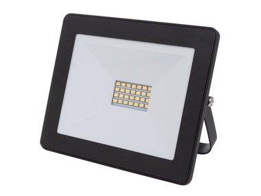 LED-SCHIJNWERPER VOOR BUITENSHUIS - 20 W, NEUTRAALWIT - ZWART (LEDA6002NW-B)
