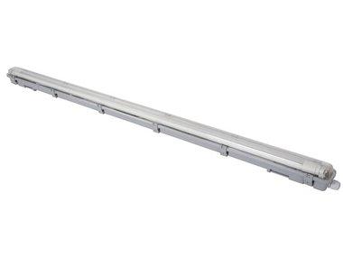 PLAFONDLAMP MET T8-LEDLAMP - WATERDICHT - BUIS - 126.5 cm - NEUTRAALWIT (LEDA98NW)