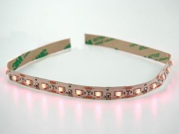 FLEX LED-MODULE - HYPERHELDER ORANJE/ROOD, 630nm, 850mcd, 120°, 12VDC-250mA (LSL-143-09O-PCS)