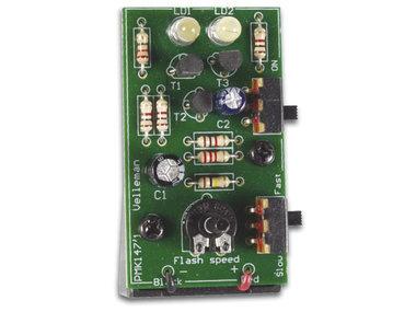 STROBOSCOOP MET TWEE WITTE LEDS (MK147)