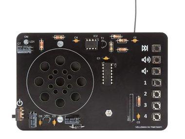 DIGITAAL GESTUURDE FM-RADIO (MK194N)