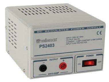 VASTE VOEDING 24 V 3 A (PS2403)