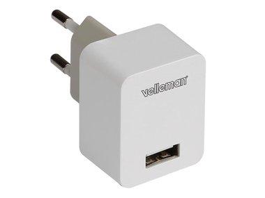 LADER MET USB-AANSLUITING 5 V - 1.0 A (PSSEUSB31)