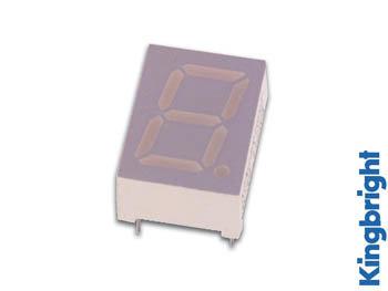 1-DIGIT DISPLAY 10mm GEMEENSCHAPPELIJKE KATHODE GROEN (SC39-11GWA)