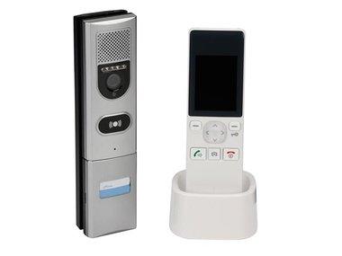 VIDEO-INTERCOMSYSTEEM MET LCD-KLEURENSCHERM - DRAADLOOS (SCAMSETW5)