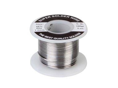 SOLDEER Sn 60% Pb 40% - 1mm 100g (SOLD100G)