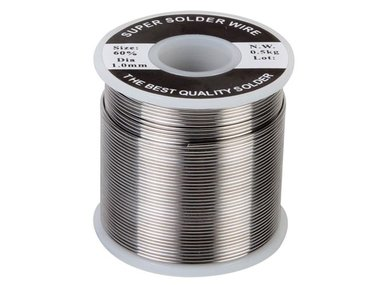 SOLDEER Sn 60% Pb 40% - 1mm 500g (SOLD500G)