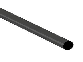 THERMISCHE KRIMPKOUS 4.8mm - ZWART - 50 ST. (STB48BK)