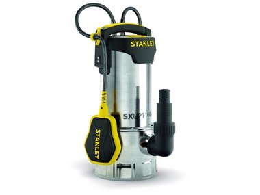 STANLEY - DOMPELPOMP - ROESTVRIJ STAAL - VUILWATER - 1100 W (STN-P1100SS)