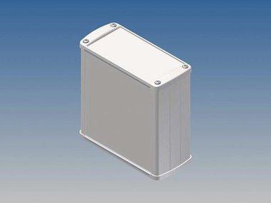ALUMINIUM BEHUIZING - WIT - 110 x 105.9 x 45.8 mm (TK31.7)
