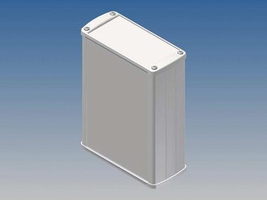 ALUMINIUM BEHUIZING - WIT - 145 x 105.9 x 45.8 mm (TK32.7)