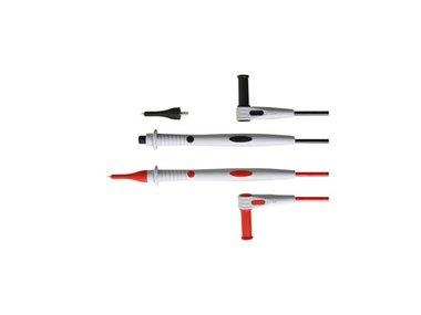 SET MET PVC MEETSNOEREN - CAT III 1000 V - 10 A - 18 AWG - LENGTE 100 cm (TLM63)