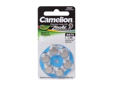 ZINC AIR CEL Camelion 1.4V (6pcs/bl) (V675RC)