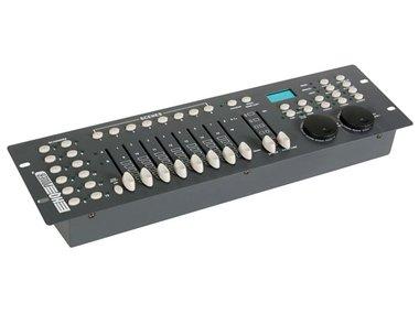 240-KANAALS DMX CONTROLLER MET JOG-WIELEN (VDPC130)
