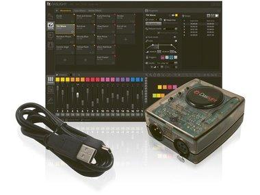 DASLIGHT - DVC4 GZM VIRTUELE DMX-CONTROLLER MET USB-DMX INTERFACE (VDPDVC4GZM)