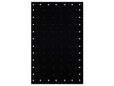 LED STARCLOTH II - 2 x 3 m RGB-STERRENGORDIJN (VDPLSC2)