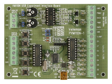 USB EXPERIMENTEER INTERFACE KAART (VM110N)