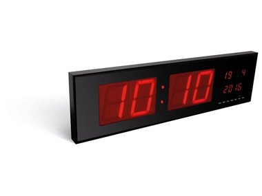 WANDKLOK MET LED-DISPLAY (WC208)