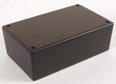 PLASTIC BEHUIZING - ZWART 160 x 95 x 55mm (WCAH2851)