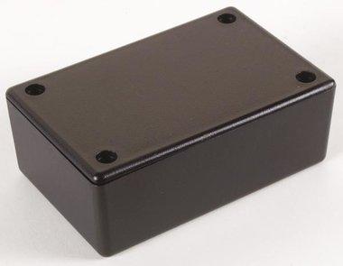 PLASTIC BEHUIZING - ZWART 85 x 55 x 30mm (WCAH2855)