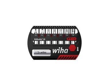 Wiha Bitset BitBuddy® TY-bit 29 mm Phillips, Pozidriv, TORX® 8-delig 1/4