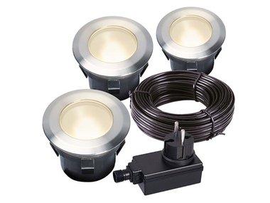 GARDEN LIGHTS - LARCH SET - INBOUWSPOT - 12 V - 30 lm - 1 W - 3000 K (GL4058603)