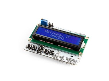 LCD-SHIELD EN TOETSENBORD VOOR ARDUINO® - LCD1602 (WPSH203)