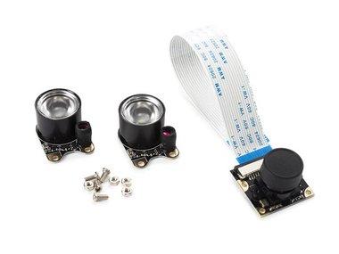 CAMERAMODULE MET 2 IR-LEDS VOOR RASPBERRY PI® (WPI408)