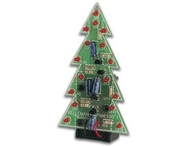 KERSTBOOM MET KNIPPERENDE LEDs (WSSA100)