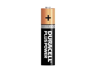 DURACELL - ALKALINEBATTERIJ PLUS POWER 1.5 V AAA MN2400 BL4 (BDLR03-BL4)
