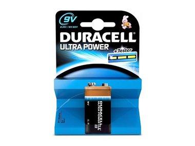 DURACELL - ALKALINE BLOKBATTERIJ ULTRA POWER 9 V - MX1604 (BDU6LR61-BL1)