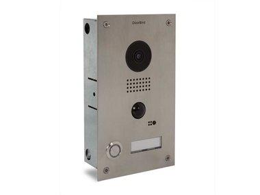 Doorbird D202 videofoon, stainless steel, inbouw (VMBVP2'DE)