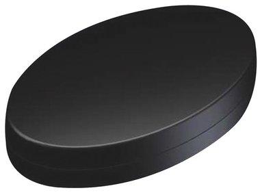 PLASTIC HANDHELD ENCLOSURE - OVOTEK BLACK - 165.3 x 103.2 x 38.5 mm (TKOK19)