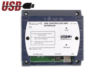 DMX-CONTROLLER VIA USB (WML116)