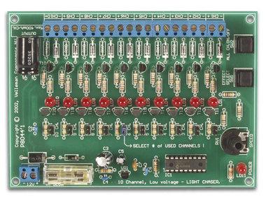 12V, 10-KANAALS LICHTEFFECTENGENERATOR (WML120)