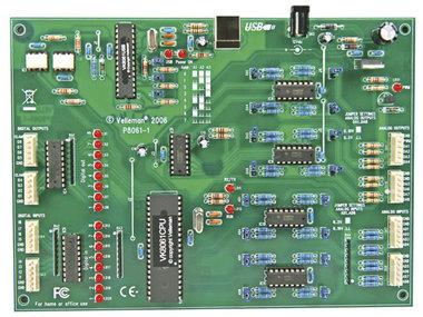 UITGEBREIDE USB INTERFACEKAART (WMI140)