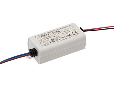 LED-DRIVER MET CONSTANTE STROOM - 1 UITGANG - 350 mA - 8.05 W (APC-8-350)