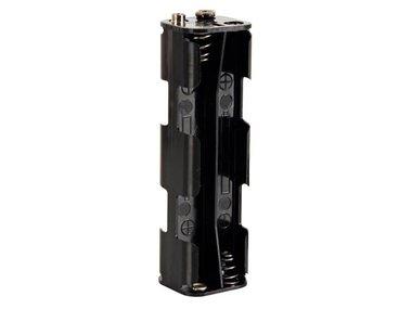 BATTERIJHOUDER VOOR 8 x AA-CEL (VOOR BATTERIJCLIPS) (BH382B)