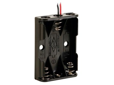 BATTERIJHOUDER VOOR 3 x AAA-BATTERIJEN (BH431A)