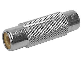 VROUWELIJKE RCA PLUG NAAR VROUWELIJKE RCA PLUG (CAA43)