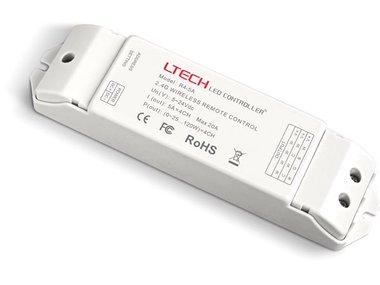 ONTVANGER VOOR LED-CONTROLLER - 4 KANALEN - VOOR CHLSC34TX, CHLSC35TX, CHLSC36TX, CHLSC37TX (CHLSC34RX)