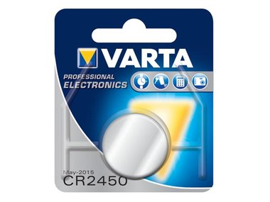 LITHIUM 3.0V-560mAh 6450.101.401 (1st/bl) (CR2450)