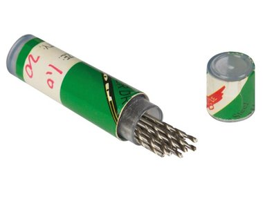 BOORTJES 1.0 mm - 20 st. (DRILL10N2)