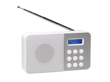 DAB-33WHITE - COMPACTE DAB+/FM-RADIO - WIT (DV-10502)
