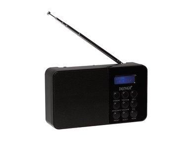 DAB-33BLACK - COMPACTE DAB+/FM-RADIO - ZWART (DV-10501)